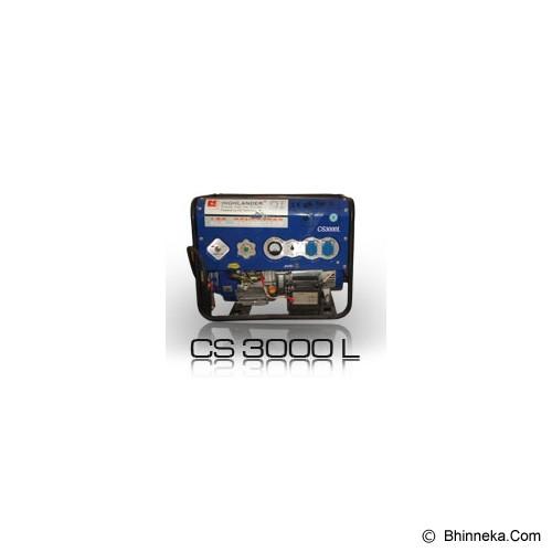 HIGHLANDER LPG Genset [CS-3000 L] - Genset Gas